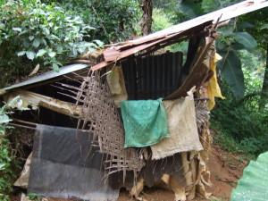 改築前のトイレ