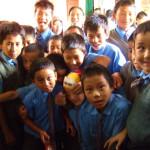 TCV(主にインドにあるチベット人のための学校)の子ども達
