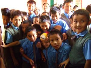 チベット子ども