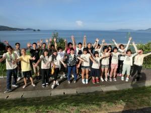 福島いわき市からの中高生達