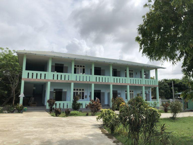ARTICと協働し建設した校舎