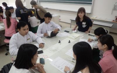九州看護福祉大学訪問・相互理解のワークショップ
