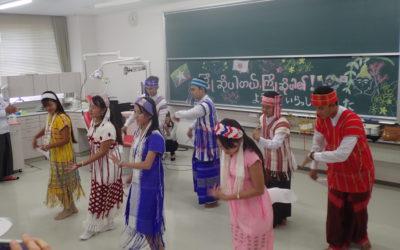民族舞踊をご披露
