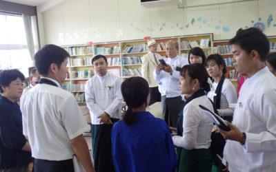 築山小学校訪問・最も興味を引かれた図書館運営